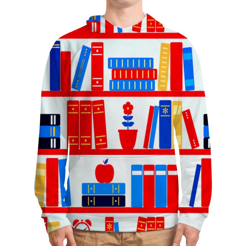 Толстовка с полной запечаткой Printio Книги