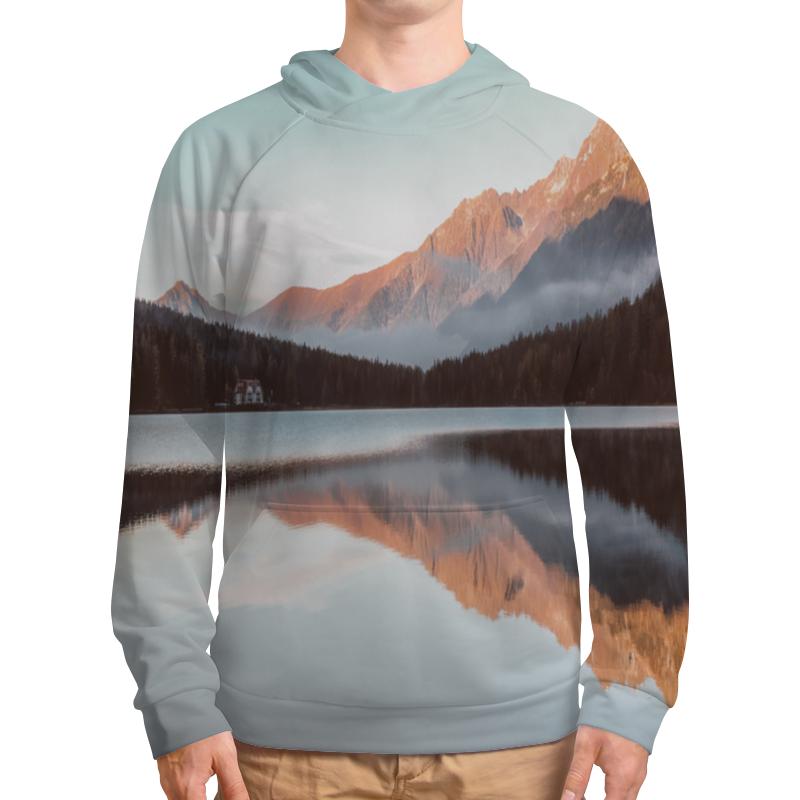 Толстовка с полной запечаткой Printio Дом у озера футболка с полной запечаткой мужская printio дом у озера