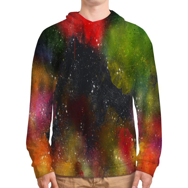 Фото - Толстовка с полной запечаткой Printio Палитра красок толстовка с полной запечаткой printio буря красок
