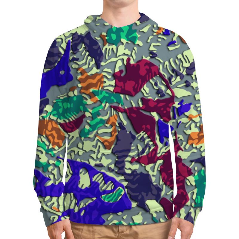 Толстовка с полной запечаткой Printio Camouflage 3d xintown camouflage winter long sleeved