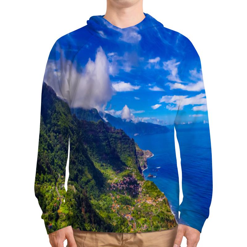 Толстовка с полной запечаткой Printio Остров ник шпанов война невидимок остров туманов