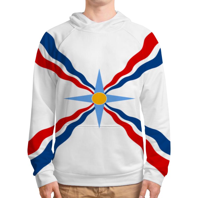 Фото - Толстовка с полной запечаткой Printio Толстовка ассирийский флаг толстовка macfion hh000122