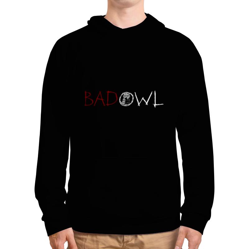 Толстовка с полной запечаткой Printio Bad owl - full black тюнер flight owl black