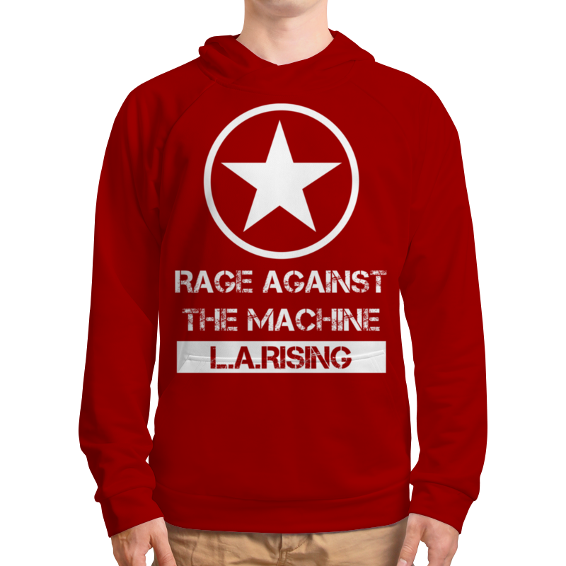 Толстовка с полной запечаткой Printio Rage against the machine rage rage the devil strikes again 2 lp