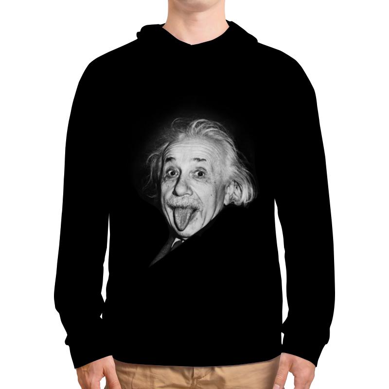 Толстовка с полной запечаткой Printio Эйнштейн рюкзак с полной запечаткой printio эйнштейн