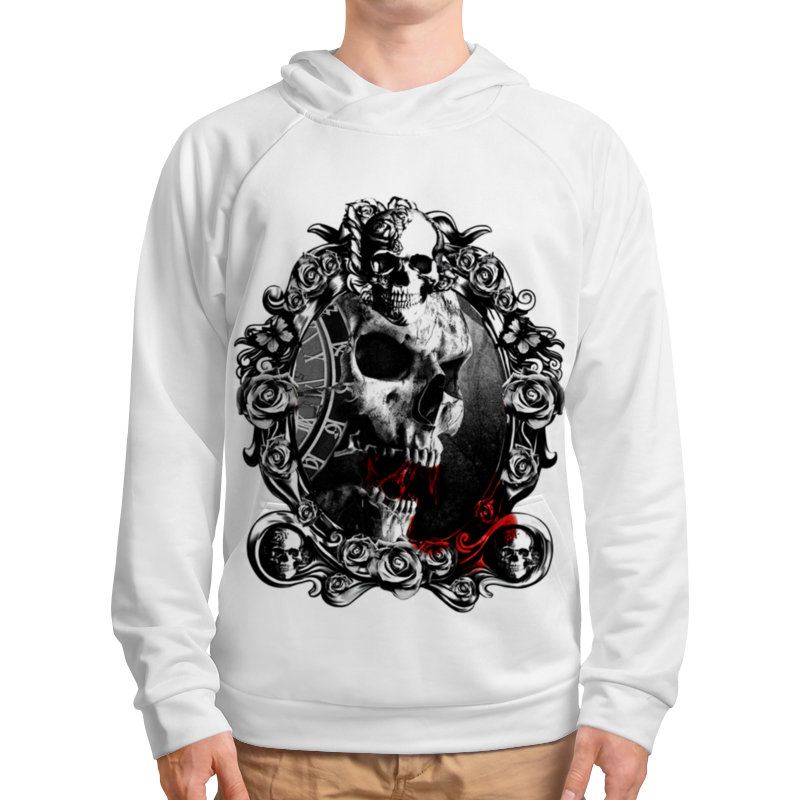 Фото - Толстовка с полной запечаткой Printio Skull - 13 толстовка с полной запечаткой printio skull 23