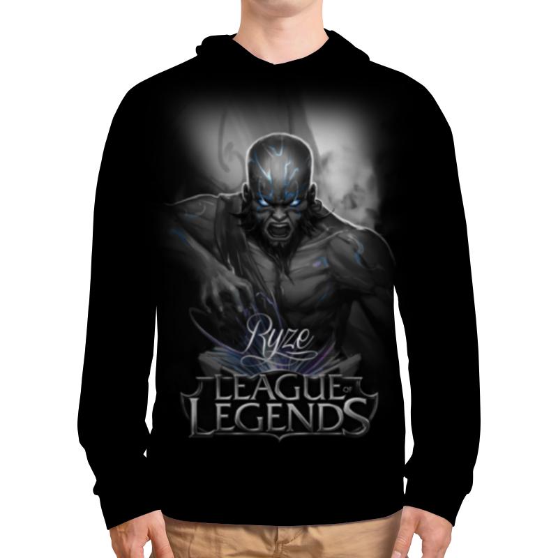 Толстовка с полной запечаткой Printio League of legends. ryze свитшот мужской с полной запечаткой printio league of legends