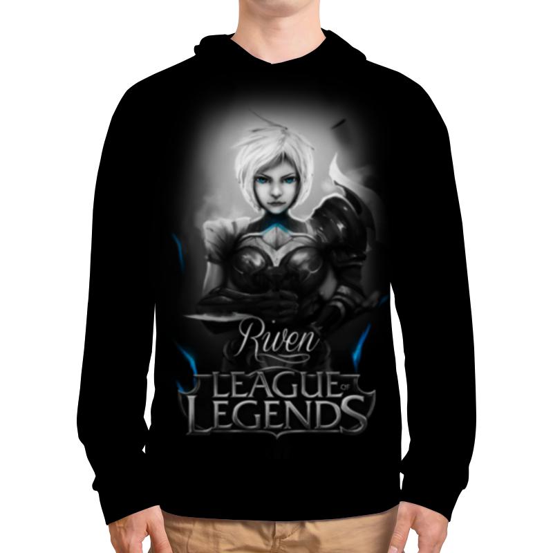 Толстовка с полной запечаткой Printio League of legends. ривен толстовка с полной запечаткой printio league of legends джарван iv