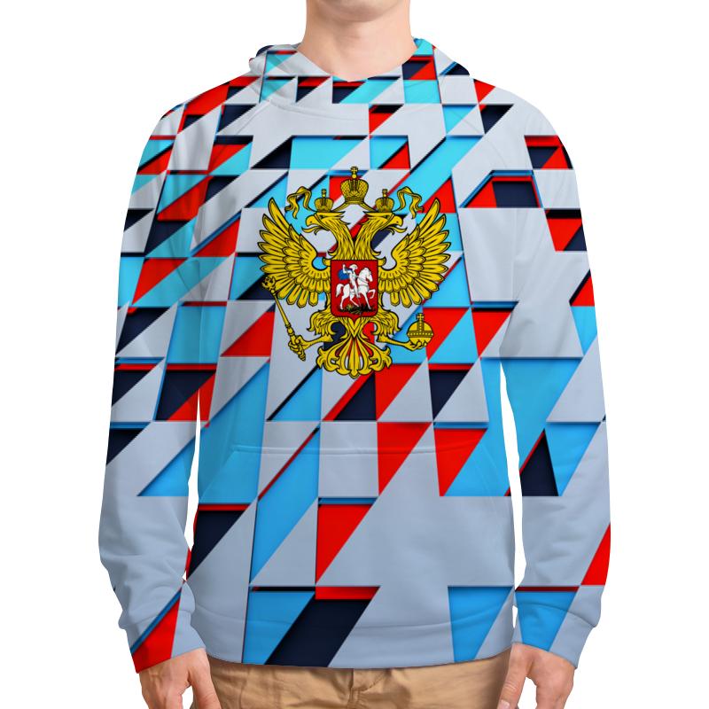 Толстовка с полной запечаткой Printio Герб россии фартук с полной запечаткой printio флаг и герб россии
