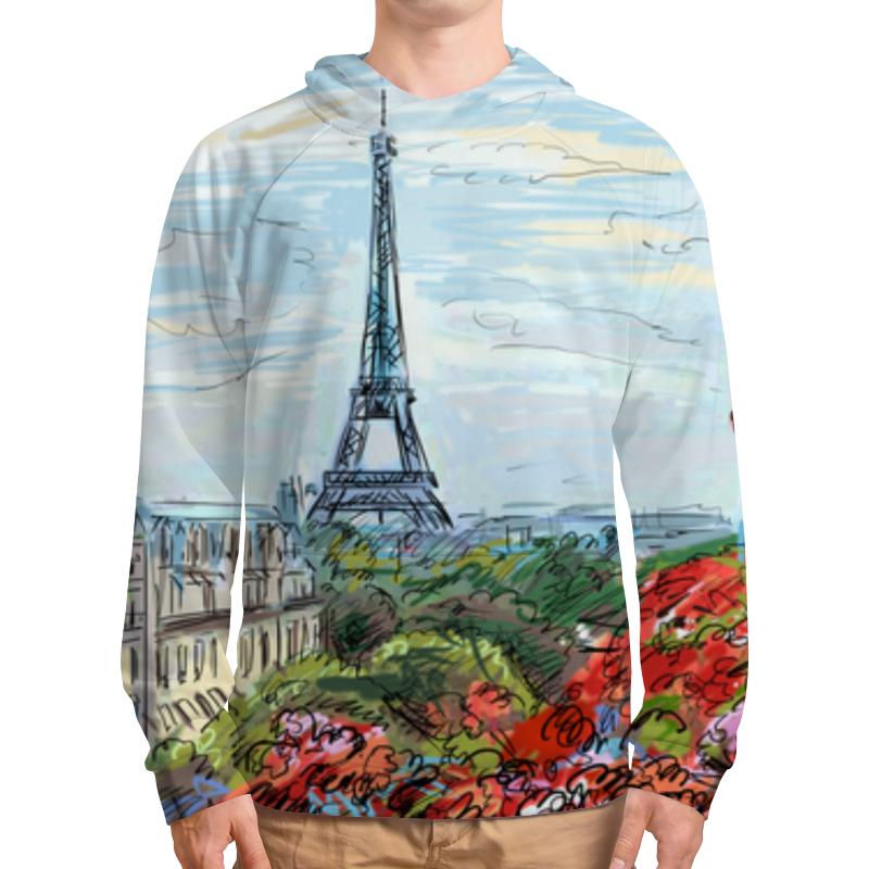 Толстовка с полной запечаткой Printio Эйфелева башня рюкзак с полной запечаткой printio эйфелева башня