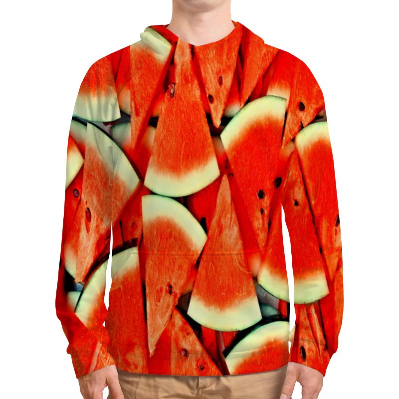 Толстовка с полной запечаткой Printio Сочный арбуз рубашка поло с полной запечаткой printio сочный арбуз