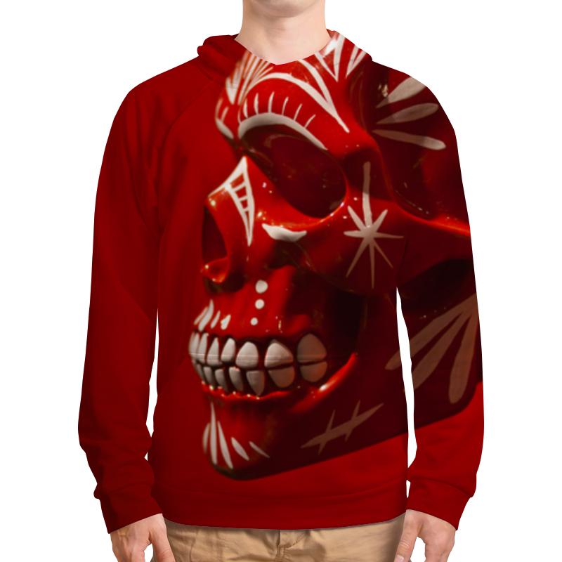 Толстовка с полной запечаткой Printio Skull - 6 redber wk 762