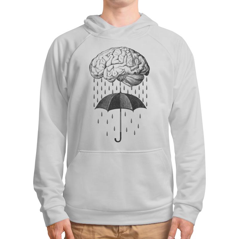 Толстовка с полной запечаткой Printio Brain rain