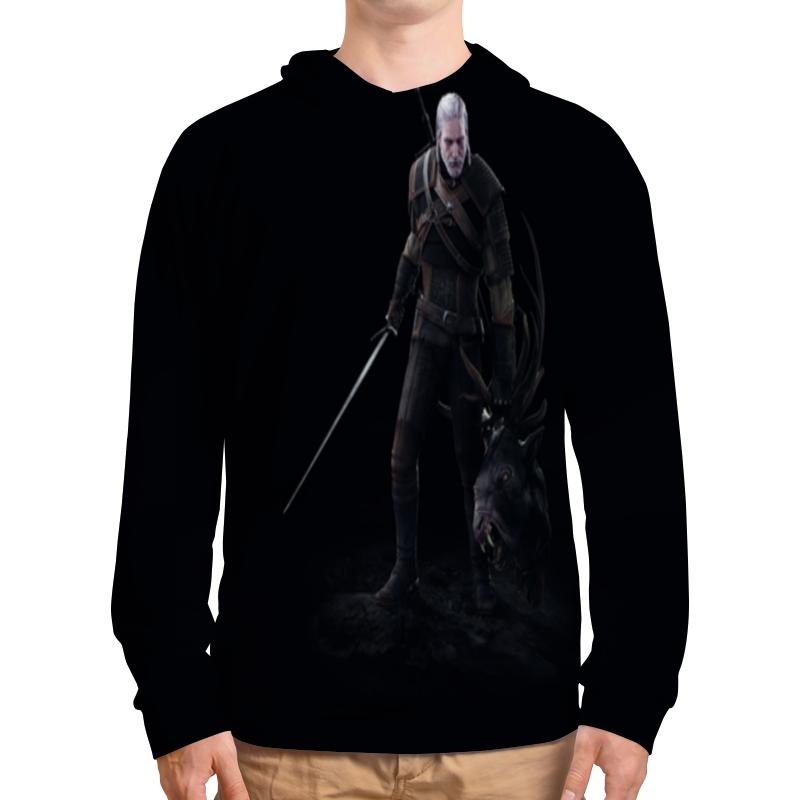 все цены на Толстовка с полной запечаткой Printio Ведьмак 3 дикая охота онлайн