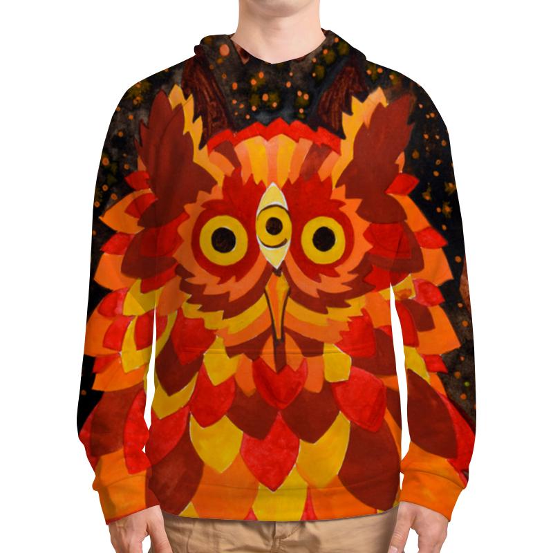Толстовка с полной запечаткой Printio Осенняя сова