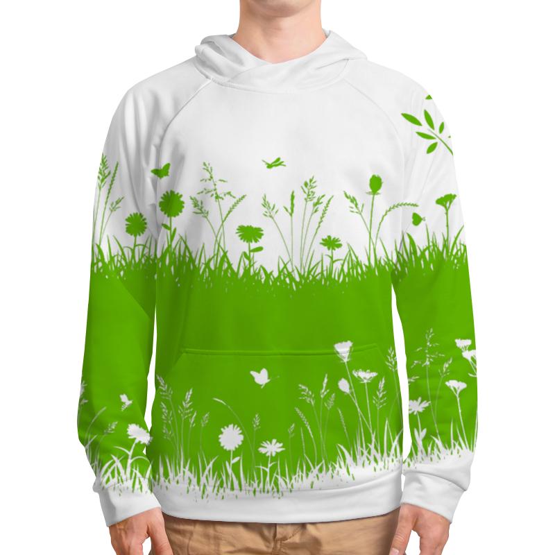 Толстовка с полной запечаткой Printio Летняя трава борцовка с полной запечаткой printio летняя трава