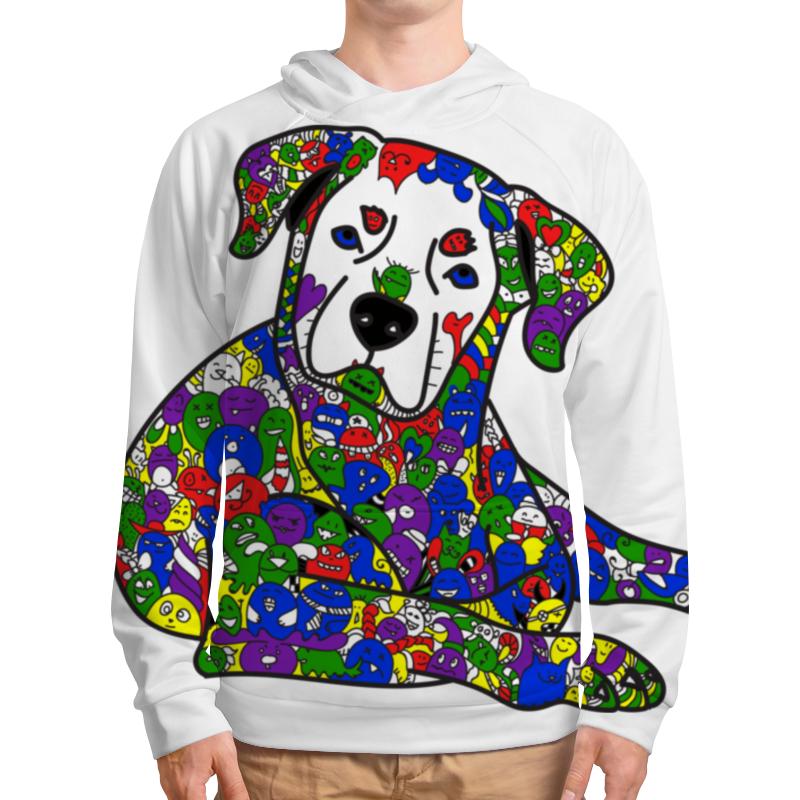 Толстовка с полной запечаткой Printio Собака из дудл монстров толстовка с полной запечаткой printio собака из дудл монстров