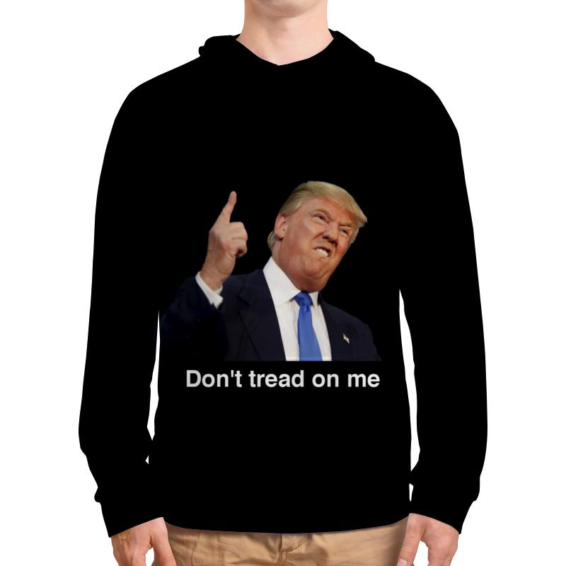 купить Толстовка с полной запечаткой Printio Don't tread on me трамп недорого