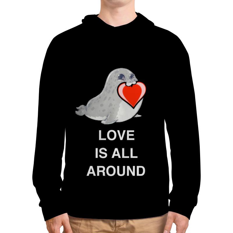 лучшая цена Printio Love. тюлень. любовь.