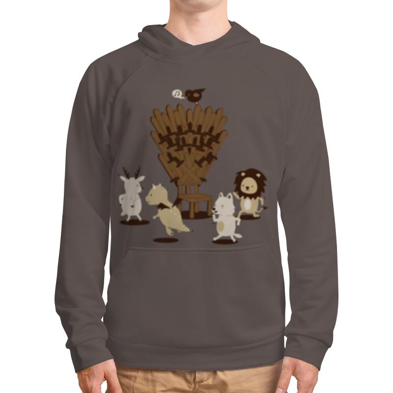 Толстовка с полной запечаткой Printio Game of musical thrones game of thrones