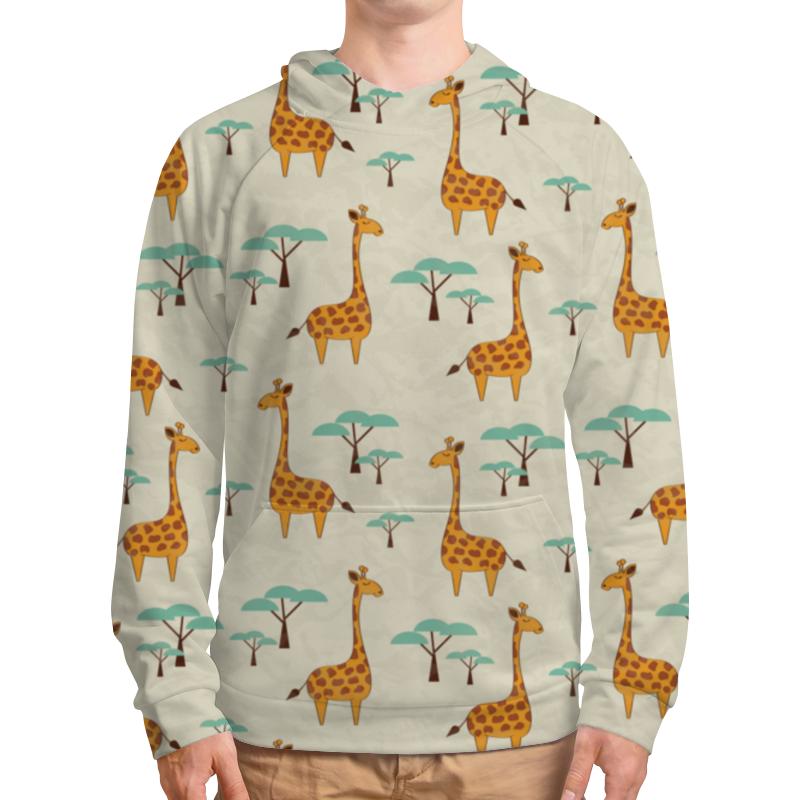 Толстовка с полной запечаткой Printio Жирафы lori фоторамки из гипса жирафы