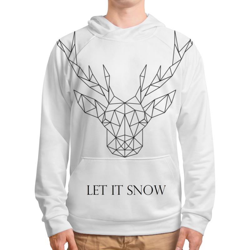 Толстовка с полной запечаткой Printio Dear deer рубашка поло с полной запечаткой printio dear deer
