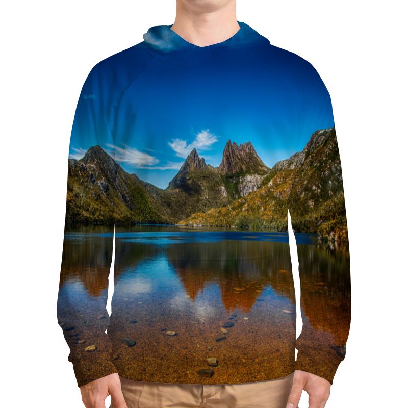 Толстовка с полной запечаткой Printio Небо над горами