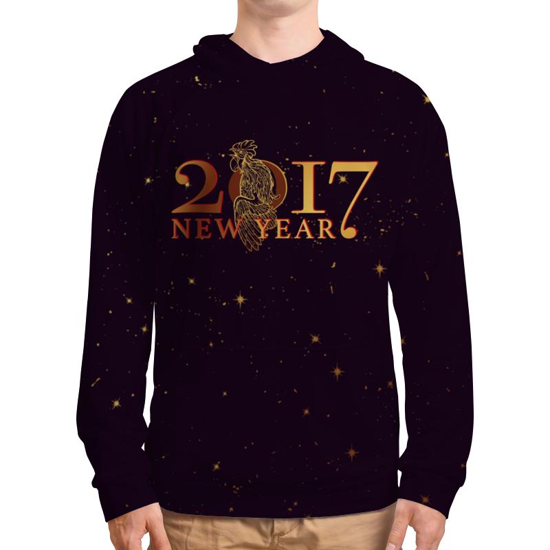 Толстовка с полной запечаткой Printio Новый год 2017 платье с рукавами printio новый год