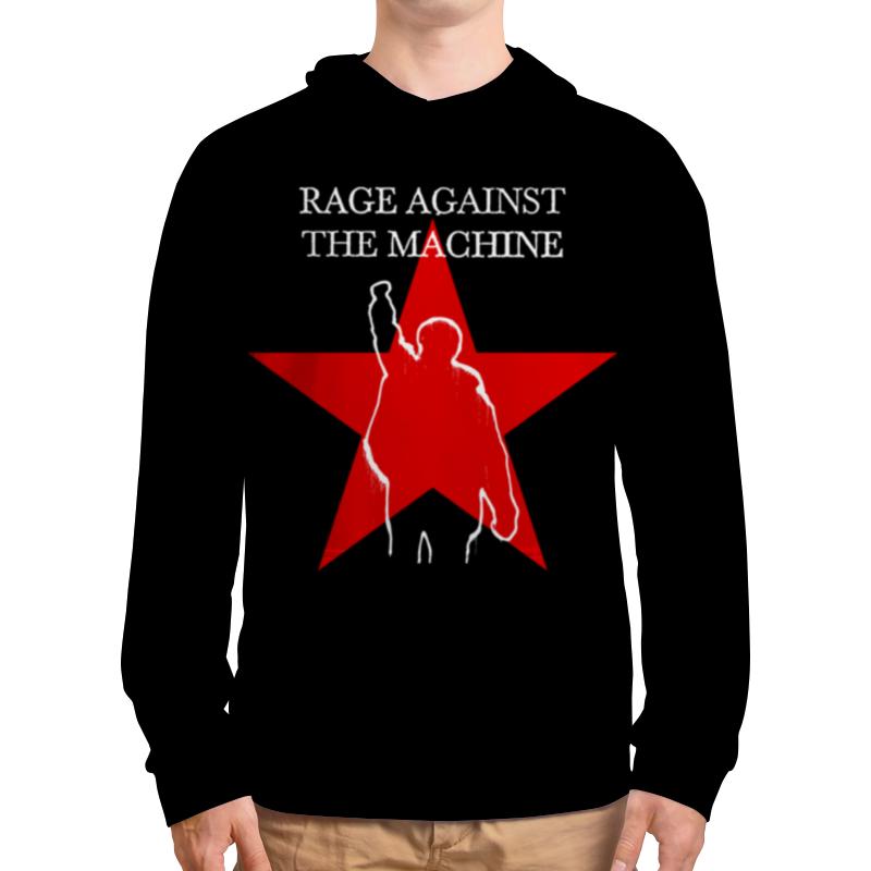 Толстовка с полной запечаткой Printio Rage against the machine