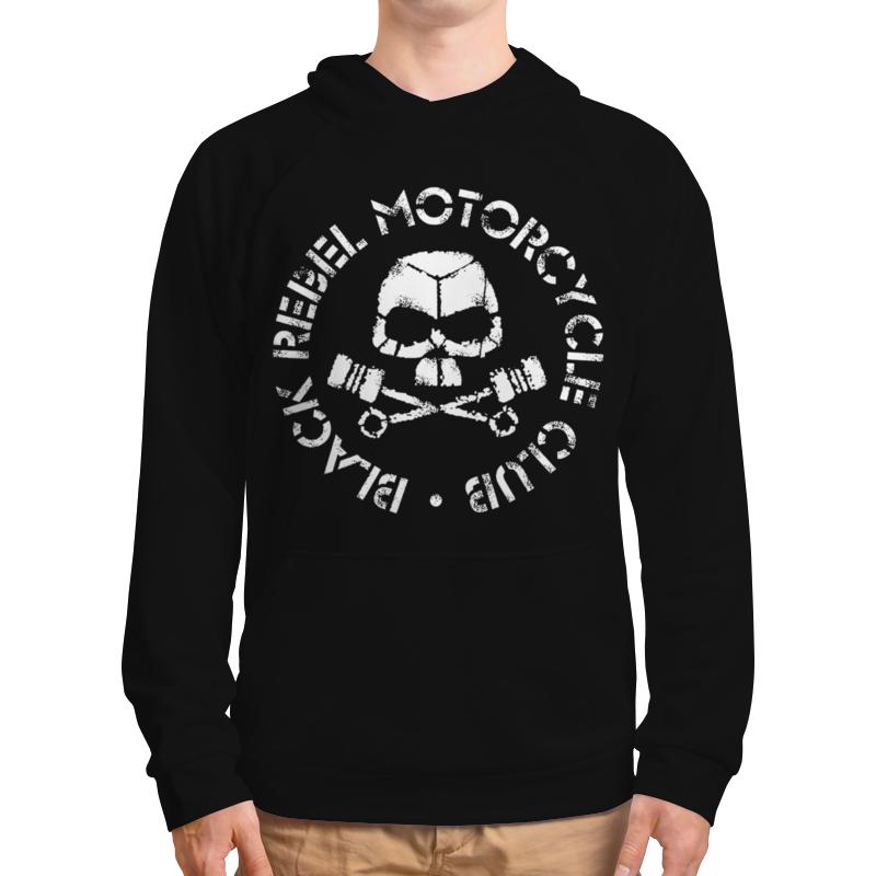 Толстовка с полной запечаткой Printio Black rebel motorcycle club