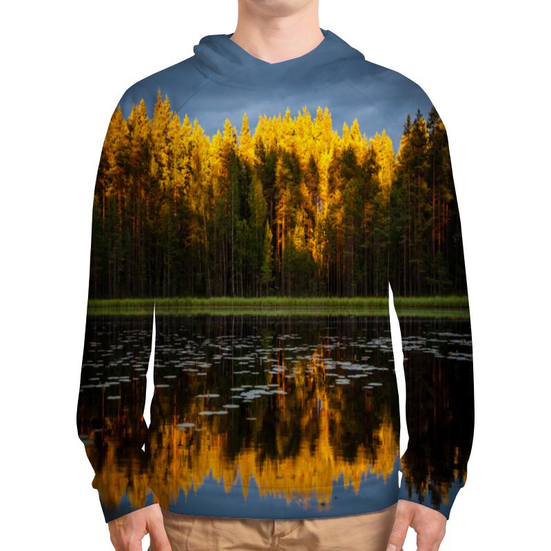 Толстовка с полной запечаткой Printio Осенний пейзаж толстовка с полной запечаткой printio осенний лес