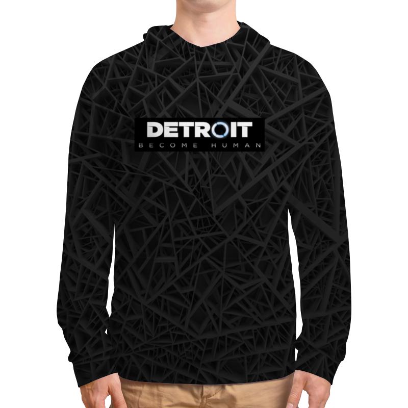Толстовка с полной запечаткой Printio Detroit become human рубашка поло с полной запечаткой printio detroit become human