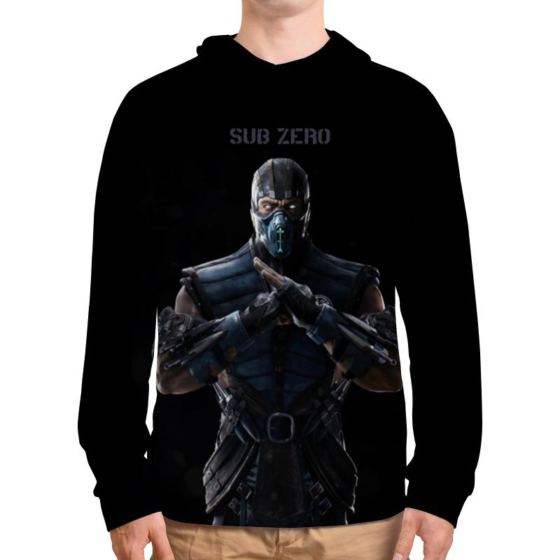 Толстовка с полной запечаткой Printio Mortal kombat x (sub-zero) свитшот унисекс с полной запечаткой printio свитшот mortal kombat x sub zero
