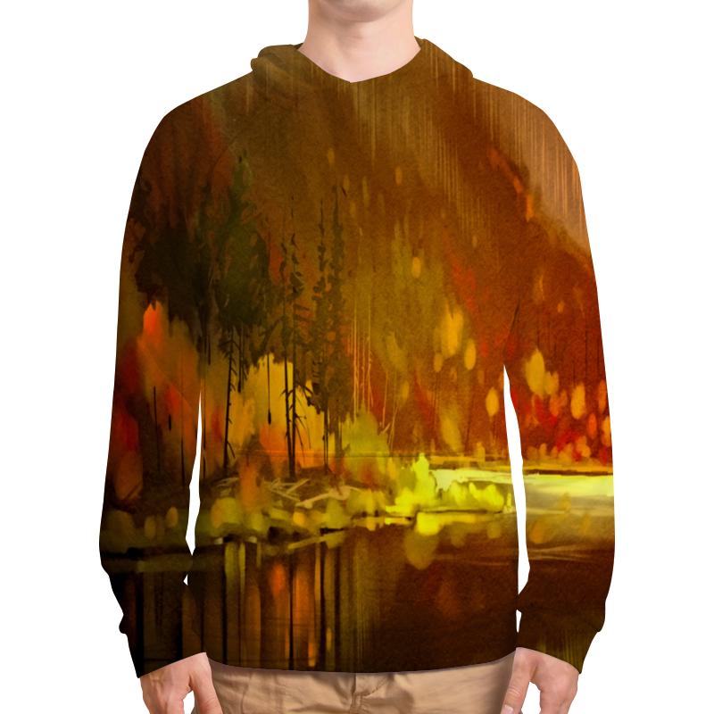 Фото - Толстовка с полной запечаткой Printio Осенний лес бомбер printio осенний лес