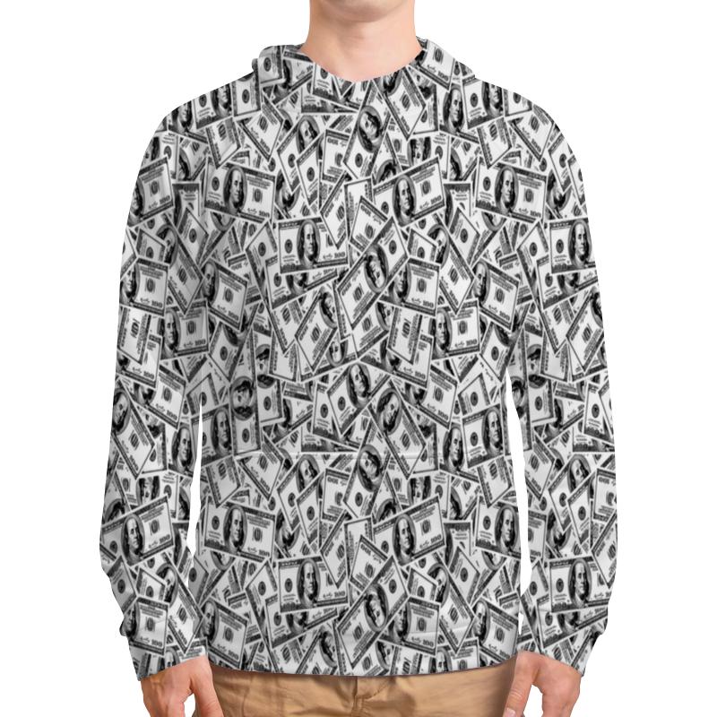 Толстовка с полной запечаткой Printio Доллар футболка с полной запечаткой для девочек printio доллар