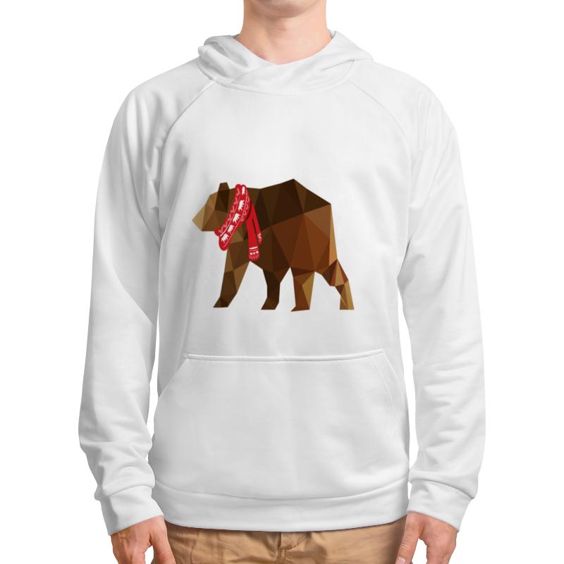 Толстовка с полной запечаткой Printio Медведь
