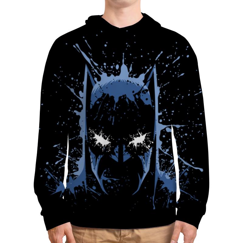 Толстовка с полной запечаткой Printio Бэтмен (batman) толстовка с полной запечаткой printio batman dark violet