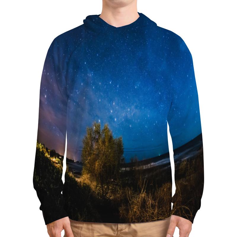 Толстовка с полной запечаткой Printio Звездная ночь борцовка с полной запечаткой printio звездная ночь
