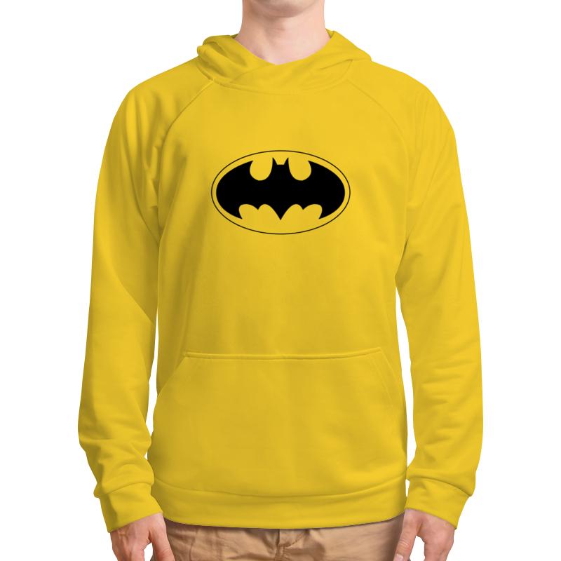 Толстовка с полной запечаткой Printio Batman - yellow ray толстовка с полной запечаткой printio batman dark violet