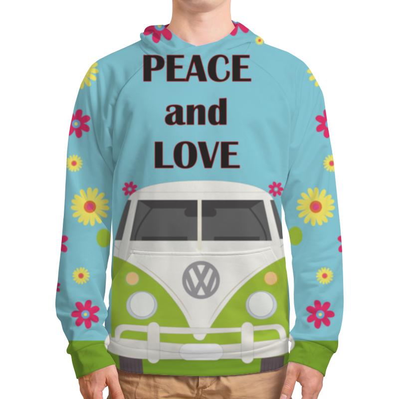 Толстовка с полной запечаткой Printio Peace and love the pogues peace and love lp