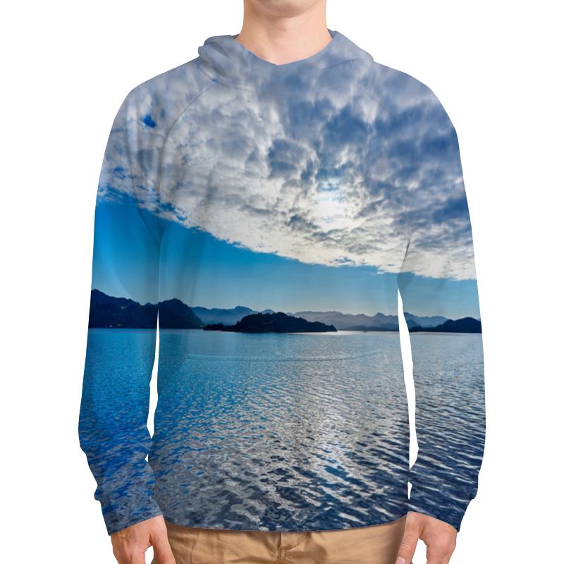 футболка с полной запечаткой для мальчиков printio остров в море Толстовка с полной запечаткой Printio Остров в море