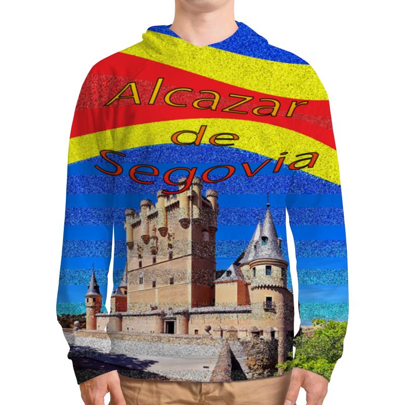 Толстовка с полной запечаткой Printio Замки испании. замок сеговия. дверные замки lars замок 6072 01 хром с ключом