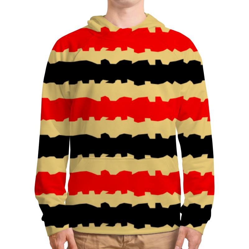 Толстовка с полной запечаткой Printio Полоски с рванными краями футболка с полной запечаткой женская printio полоски с рванными краями