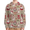 """Толстовка с полной запечаткой """"Merry Christmas"""" - праздник, новый год, зима, подарки, дед мороз"""