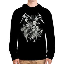 """Толстовка с полной запечаткой """"Metallica"""" - рок, metallica, группы, метал, металлика"""