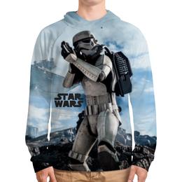 """Толстовка с полной запечаткой (Мужская) """"star wars"""" - stormtrooper, звёздные войны, дарта вейдера, имперские штурмовики"""