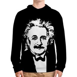 """Толстовка с полной запечаткой """"Эйнштейн"""" - одежда космос, космос, звезды, вселенная, эйнштейн"""