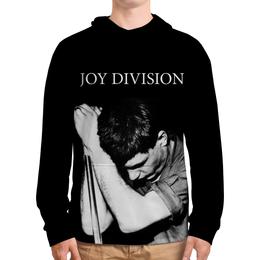 """Толстовка с полной запечаткой (Мужская) """"Joy Division"""" - joy division, группы, ian curtis, пост-панк, иен кёртис"""