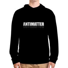 """Толстовка с полной запечаткой """"MINER - Antimatter Black One"""" - майнинг, одежда майнера, толстовка для майнеров, antimatter, черная толстовка с капюшоном"""