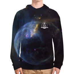 """Толстовка с полной запечаткой """"К звездам!"""" - звезды, космос, наука, астрономия, the spaceway"""